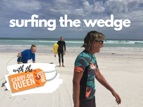 A surf trip to The Wedge in Western Australia