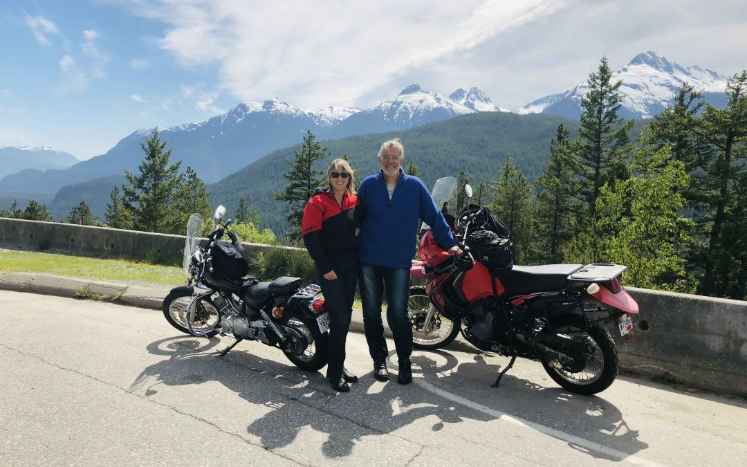 Motorbiking the Sea to Sky Highway from Vancouver to Whistler