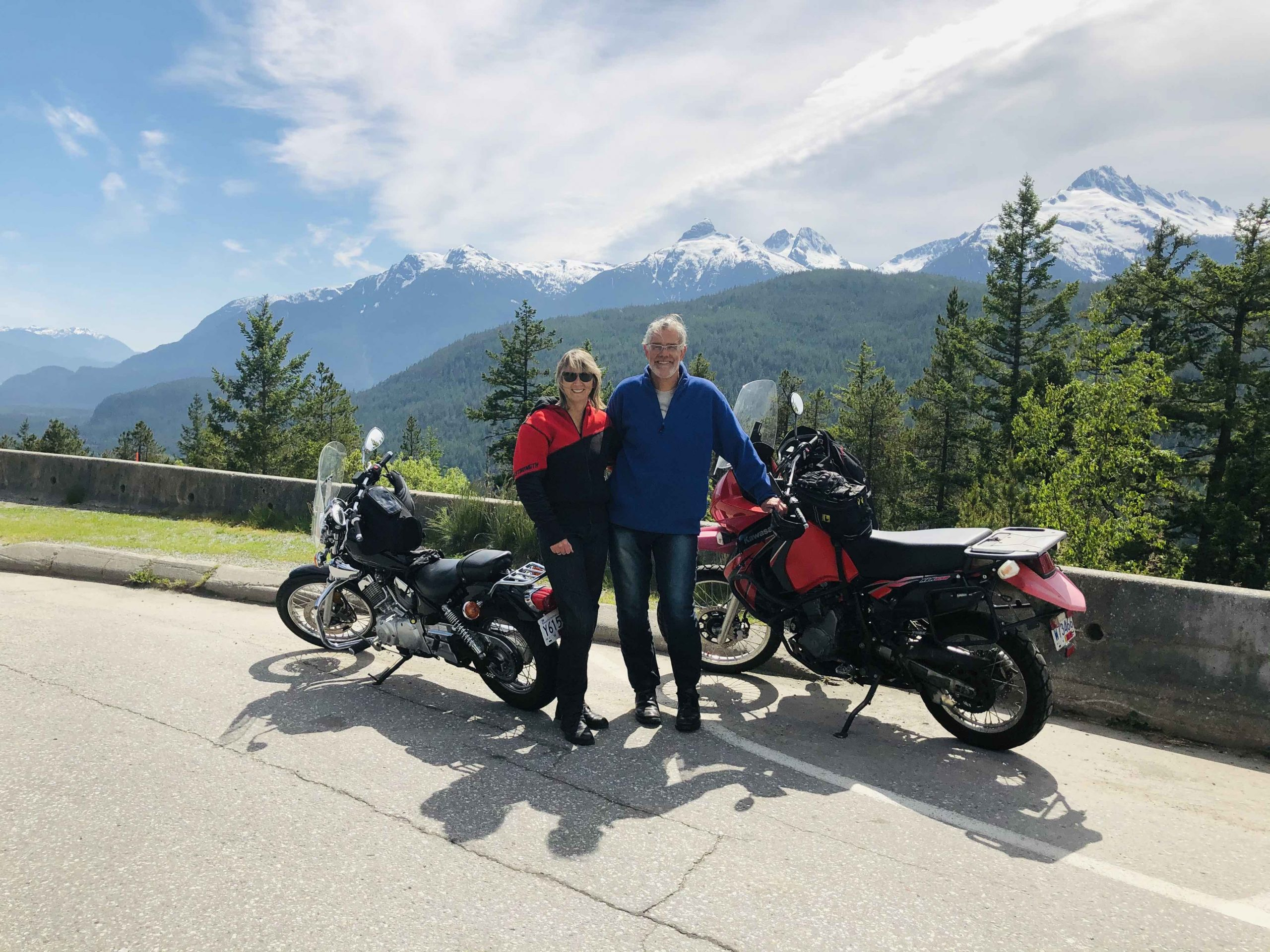 Motorbiking the Sea to Sky Highway from Vancouver to Whistler - Carry On Queen